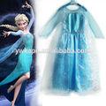 venta al por mayor del bebé vestido nuevo estilo de elsa congelados de traje para las niñas