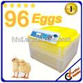 96 nuevos mini huevos de aves de corral de incubación totalmente automático para la venta YZ-96A