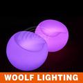 led iluminado los niños divertido de plástico camping silla luna