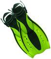 aletas de buceo aletas de natación de goma fns f01