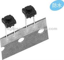 Impermeable A través del interruptor del agujero Tact TS-3006