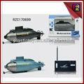 6ch mini-wireless r/c submarino para venda rzc170699