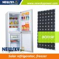 12v 24v solar freezer geladeira solar dc frigorífico para venda