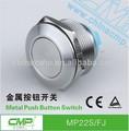cmp 22mm diámetro del hilo a prueba de agua de un solo polo de un solo tiro interruptor de botón