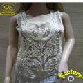 Patrón para damas traje con diseño de moda YJC15100