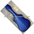 estuche rígido de guitarra de fibra de vidrio