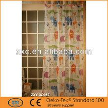 casa de modas internacional de material de la cortina