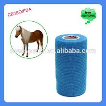10cm vendaje cohesivo para pet cuidado del caballo