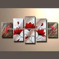 Popular artesanal venda quente abstrato projeto da pintura da flor