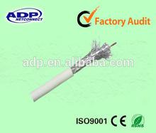 Cu 0.81mm rg59 circuito cerrado de televisión por cable coaxial