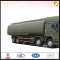 Howo 8*4 aceite de camión cisterna de transporte de camiones para la venta