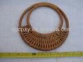 nova moda de madeira lubricious vinha alça de bambu fornecedor direto da china vários sacos de bambu alças para bolsas