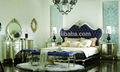 Lit et night stand et table à langer et armoire/nouveau classique bedroom set/gd-a8001 chambre à coucher en bois massif