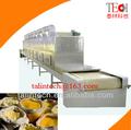 de comida de microondas esterilización equipo de secado