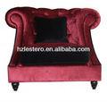 2014 completo de terciopelo sofá cojín de respaldo alto sofá silla mobiliariodesala