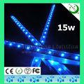 "12"" 15w impermeable de alta potencia led las luces del acuario de peces de agua salada"