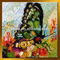 venta al por mayor hecho a mano hermosa mariposa decorativos pintura sobre lienzo