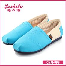 Luzhilv estilo Simple zapato de lona de mayor éxito de ventas