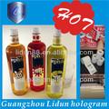 chine bon marché étiquette de la bouteille de savon liquide