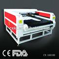 CX160100 laser de la tela de la máquina de corte con el precio más bajo