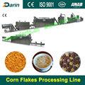 Copos de maíz cereal para el desayuno de la máquina/maquinaria
