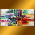 pintura de arte moderno de la pared de imagen para sala de estar