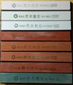 Afilador de cuchillos de cocina profesional Adaee de 8 piezas, juego de piedra de afilar 80# 180# 400# 800# 1000# 1500# 2000# 3000#