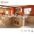 American candany tradicional estilo de cocina de madera sólida del gabinete de diseño, gabinete de cocina puerta de vidrio
