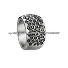 2014 nuevo diseño anillo de acero inoxidable