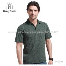 Prendas de vestir de los hombres de lujo polo de piqué de t-shirt playeras personalizadas