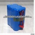 precio de fábrica de la batería china OEM proveedor pequeño recargable 12v 3S2P paquete de energía de la batería 4400mah