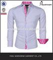 de manga larga camisa para hombre de moda ropa