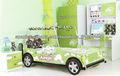 017A mejor niños muebles al por mayor de China cama para el automóvil niños jeep