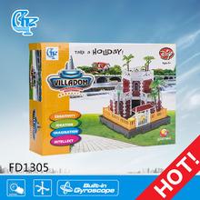 fd1305 gran bloque de construcción de la construcción de ladrillos de juguete venta al por mayor de juguetes educativos