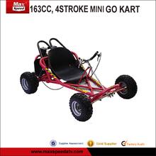 163cc, accidente cerebrovascular 4 karting