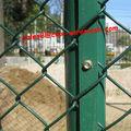 Preço de fábrica baratos de Chain Link Fence, diamantes cerca de arame, elo da cadeia esgrima barato