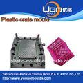 moldes de inyección para la fábrica de leche de plástico caja de moldeo