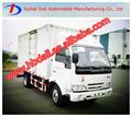 yuejin nj1041 pequeña furgoneta con camiones de combustible diesel para la venta