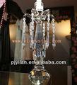 vacaciones de decoración de la mesa de cristal palillo de la vela candelabros candelabro de centros de mesa para bodas