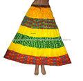 verano elegante 2014 tradicional de las mujeres falda larga