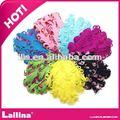 color mezclado rizado pluma almohadillas para diadema