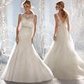 на заказ сексуальный русалочка открыть пояснице дешевые свадебные платья сделано в китае 2014