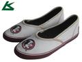 nuevo 2014 mujeres de caucho vulcanizado zapatos de lona