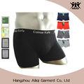 Verano de los hombres U fibra de bambú fabricante de ropa interior convexa