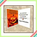 tarjeta de papel de halloween