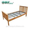 uso en el hogar de un solo tamaño de madera de haya de la cama eléctrica con motor okin