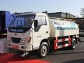 de acero inoxidable del tanque de agua de camiones de transporte de agua de camiones cisterna