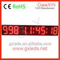 Ganxin 8 pulgadas con control remoto dirigido temporizador 9 dígitos