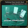 tapa de la mesa de exhibición de acrílico soporte para teléfono celular
