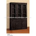 Funcional de madera de madera barata librerías/estanterías